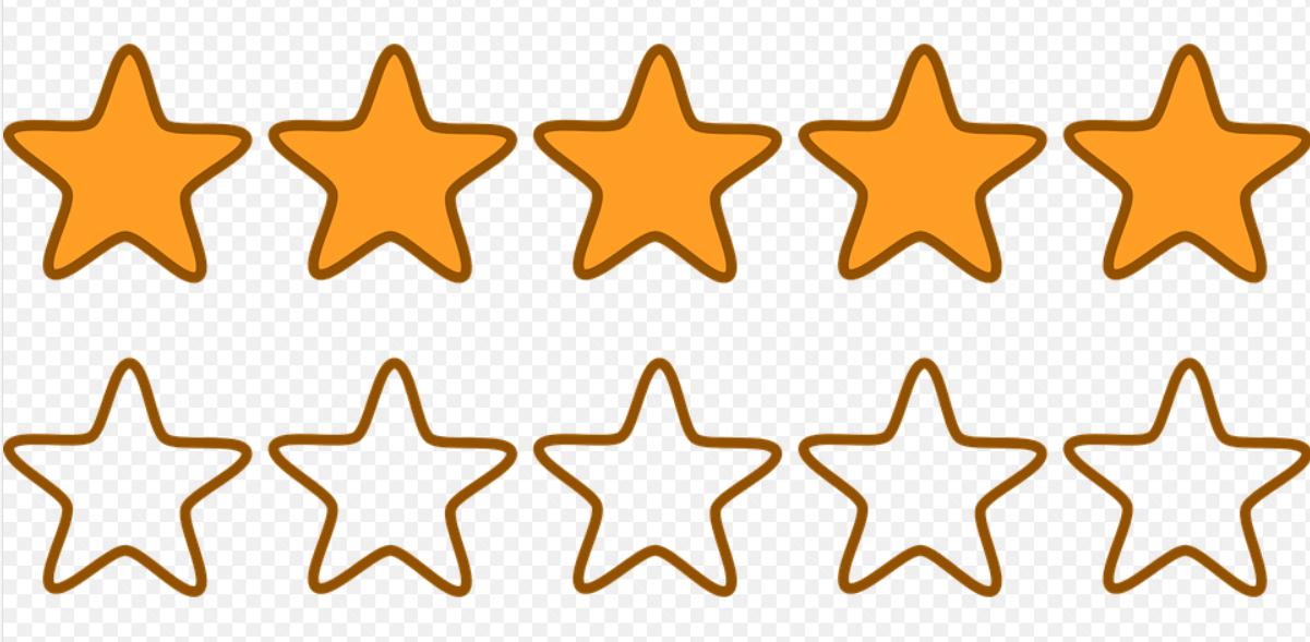 hodnotící hvězdy