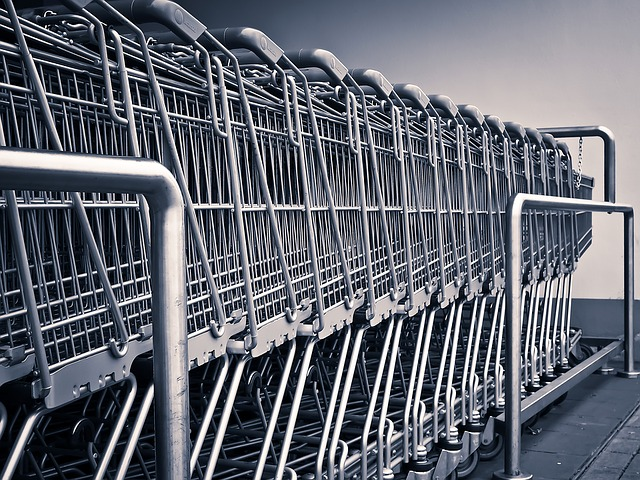 košíky na nákup