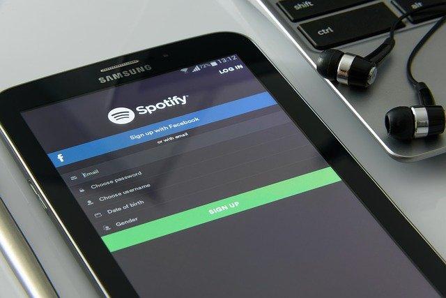 Vyzkoušejte aplikaci Spotify!