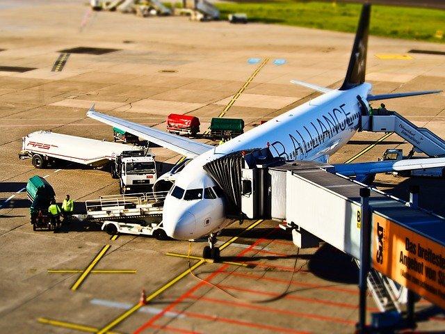 odbavení letadla