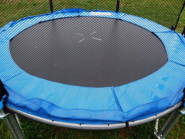 Ochranná síť na trampolínu