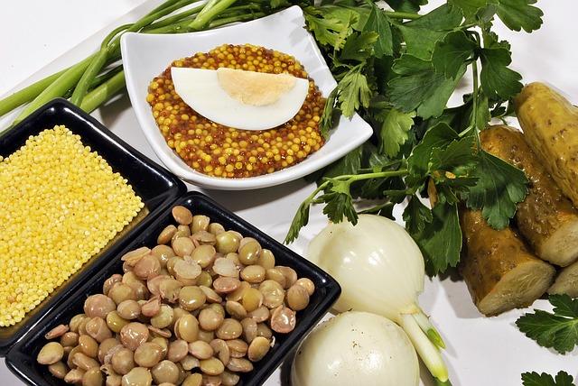 zelenina a luštěniny
