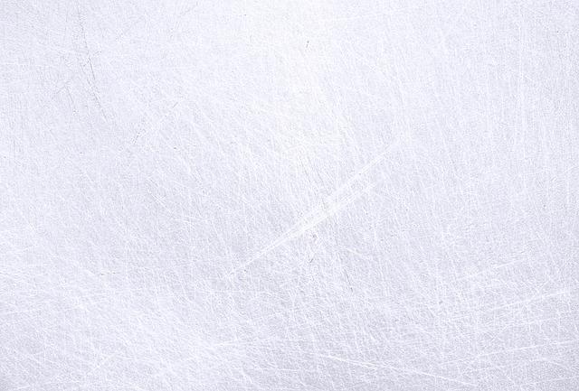 poškrábaný led