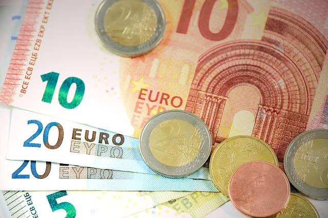 mince na bankovkách