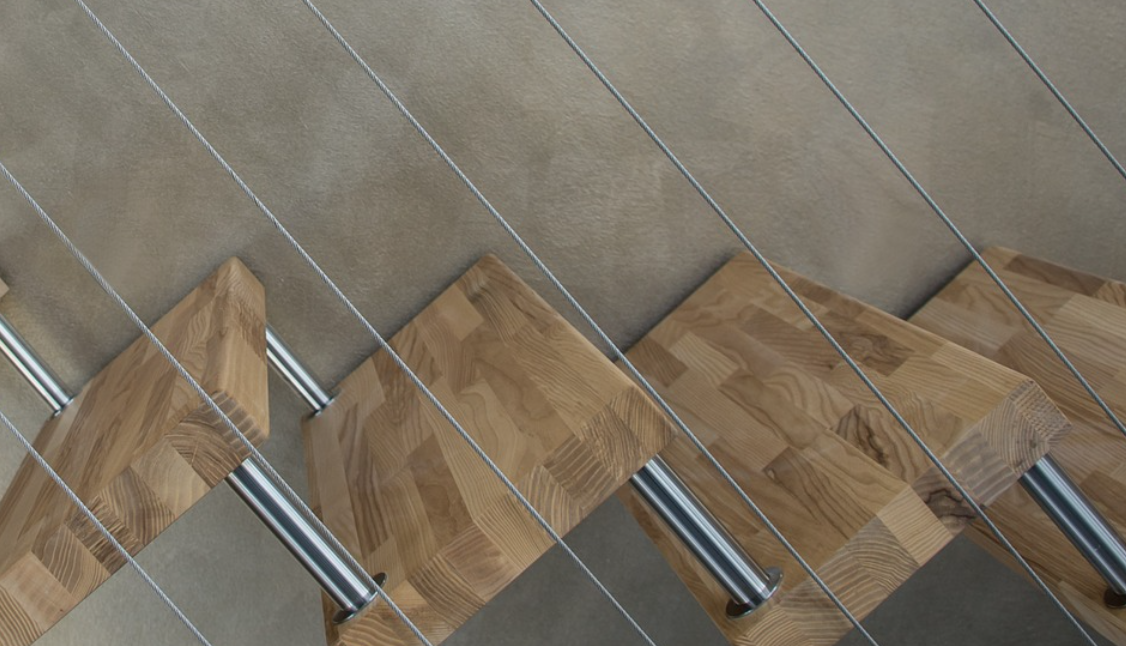 schody a dřevo